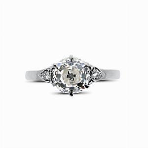 Old Cut Diamond Engagement Ring 1.19ct